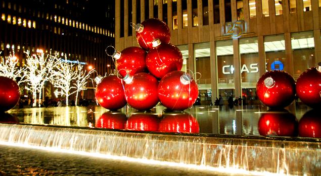 Празднуем Рождество и Новый Год 2015 в Нью-Йорке