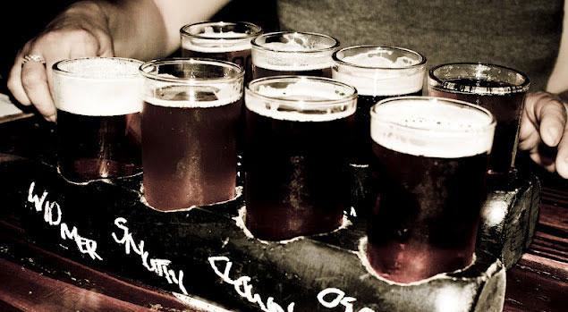 Экскурсия с дегустацией пива